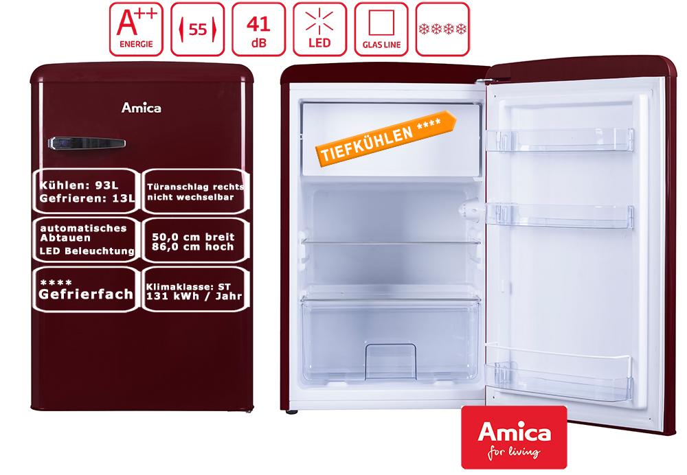Gorenje Kühlschrank Retro Abtauen : Amica retro style kühlschrank a l gefrierfach